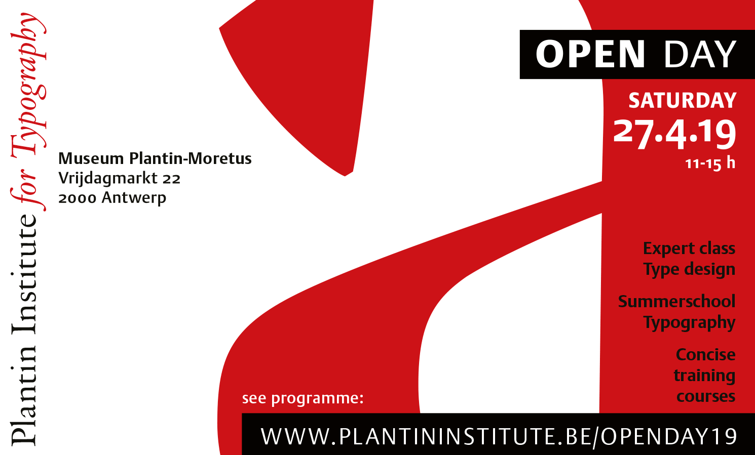 Plantin Instituut voor Typografie   Studiebezoek aan het